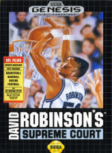 David Robinson's Supreme Court Sega Genesis cover artwork