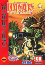Dinosaurs for Hire Sega Genesis cover artwork