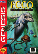 Ecco - The Tides of Time Sega Genesis cover artwork