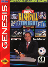 ESPN Baseball Tonight Sega Genesis cover artwork