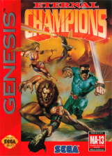 Eternal Champions Sega Genesis cover artwork