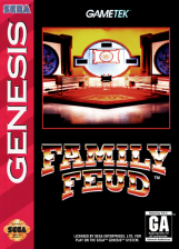 Family Feud Sega Genesis cover artwork