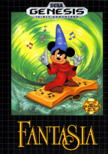 Fantasia Sega Genesis cover artwork