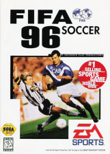 FIFA Soccer 96 Sega Genesis cover artwork