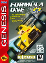 Formula One Sega Genesis cover artwork