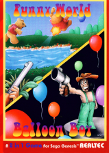 Funny World & Balloon Boy Sega Genesis cover artwork