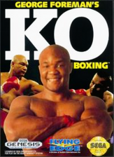 George Foreman's KO Boxing Sega Genesis cover artwork