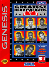 Greatest Heavyweights Sega Genesis cover artwork
