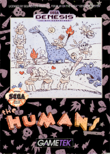 Humans, The Sega Genesis cover artwork