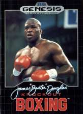 James 'Buster' Douglas Knockout Boxing Sega Genesis cover artwork