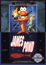 James Pond - Underwater Agent Sega Genesis cover artwork