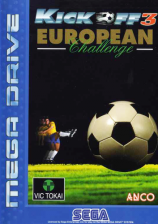 Kick Off 3 - European Challenge Sega Genesis cover artwork