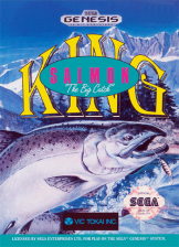 King Salmon - The Big Catch Sega Genesis cover artwork