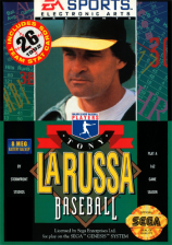 La Russa Baseball 95 Sega Genesis cover artwork
