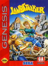 Landstalker Sega Genesis cover artwork