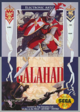 Legend of Galahad, The Sega Genesis cover artwork