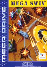 Mega SWIV Sega Genesis cover artwork