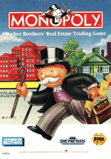Monopoly Sega Genesis cover artwork