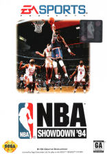 NBA Showdown '94 Sega Genesis cover artwork