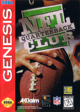 NFL Quarterback Club Sega Genesis cover artwork