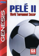 Pele 2 - World Tournament Soccer Sega Genesis cover artwork