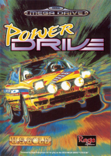 Power Drive Sega Genesis cover artwork