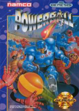 Powerball Sega Genesis cover artwork