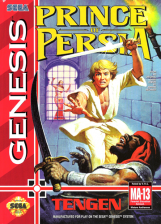 Prince of Persia Sega Genesis cover artwork
