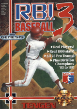 R.B.I. Baseball 3 Sega Genesis cover artwork