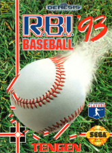 R.B.I. Baseball '93 Sega Genesis cover artwork