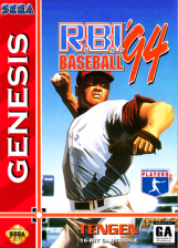 R.B.I. Baseball '94 Sega Genesis cover artwork
