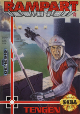 Rampart Sega Genesis cover artwork