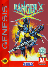 Ranger X Sega Genesis cover artwork