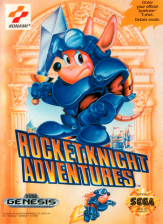 Rocket Knight Adventures Sega Genesis cover artwork