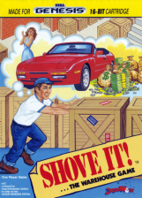 Shove It! ...The Warehouse Game Sega Genesis cover artwork