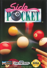 Side Pocket Sega Genesis cover artwork