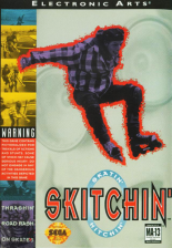 Skitchin' Sega Genesis cover artwork