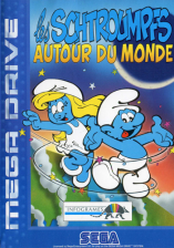 Smurfs Travel the World, The Sega Genesis cover artwork