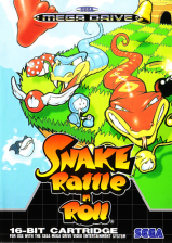 Snake Rattle'n'Roll Sega Genesis cover artwork