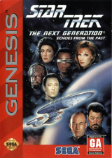 Star Trek - The Next Generation - Echoes from the Past Sega Genesis cover artwork