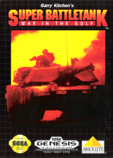 Super Battletank - War in the Gulf Sega Genesis cover artwork