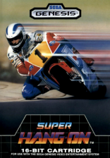 Super Hang-On Sega Genesis cover artwork