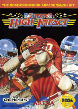 Super High Impact Sega Genesis cover artwork