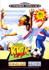 Super Kick Off Sega Genesis cover artwork