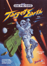 Target Earth Sega Genesis cover artwork