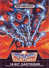 Truxton Sega Genesis cover artwork
