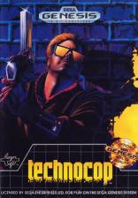 Technocop Sega Genesis cover artwork