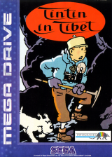 Tintin in Tibet Sega Genesis cover artwork