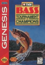 TNN Bass Tournament of Champions Sega Genesis cover artwork