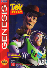 Toy Story Sega Genesis cover artwork